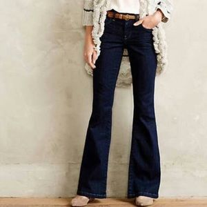 Anthropologie Pilcro Superscript Flare Jeans